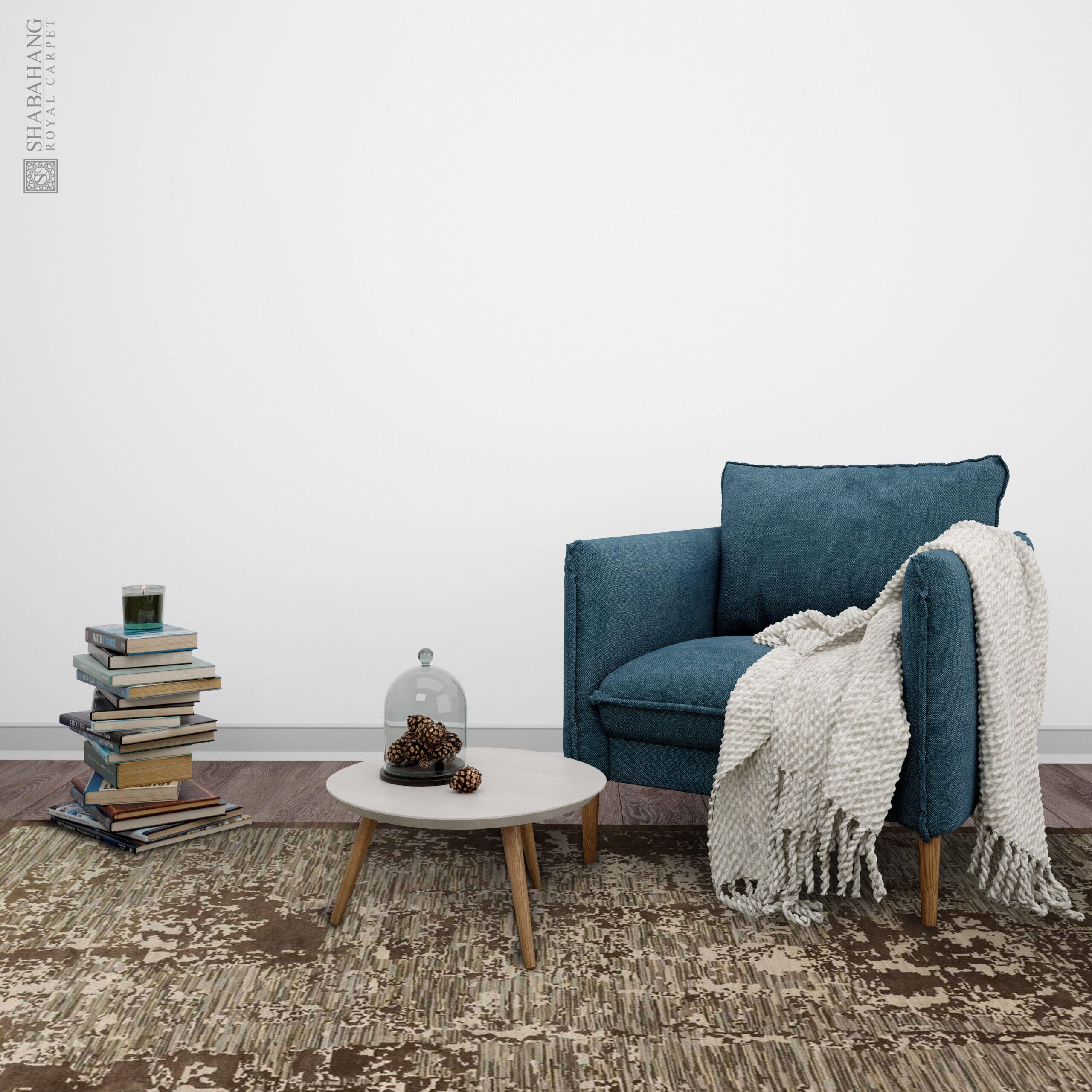 Digital 9' x 12' Handmade Area Rug - Shabahang Royal Carpet