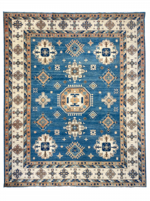 "Kazak 8' 2"" x 9' 10"" Handmade Area Rug - Shabahang Royal Carpet"