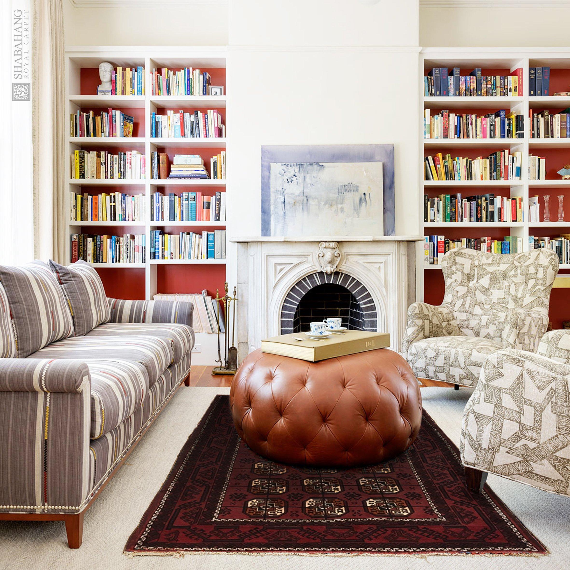 "Antique Persian Balouchi 4' 10"" x 7' 7"" Handmade Wool Area Rug - Shabahang Royal Carpet"