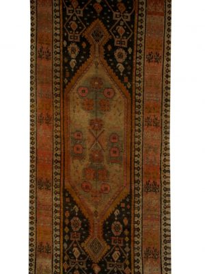 "Antique Persian Bakhtiari 2' 10"" x 11' 6"" - Shabahang Royal Carpet"