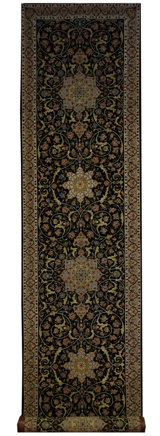 "Persian Esfahan 2' 10"" x 12' 6"" - Shabahang Royal Carpet"