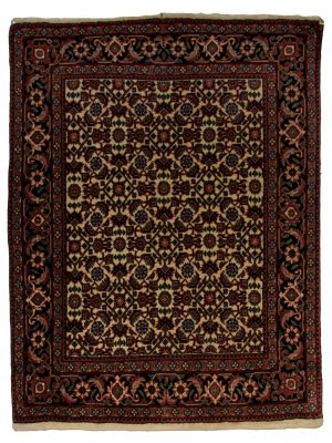 "Persian Bijar 2' 6"" x 3' 4"" Handmade Area Rug - Shabahang Royal Carpet"