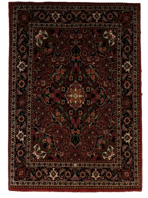 "Persian Bijar 2' 4"" x 3' 5"" Handmade Area Rug - Shabahang Royal Carpet"