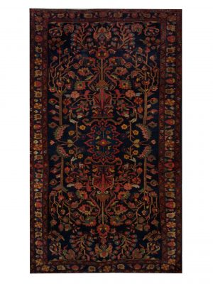 "Antique Persian Bakhtiari 4' 6"" x 7' 10"" - Shabahang Royal Carpet"