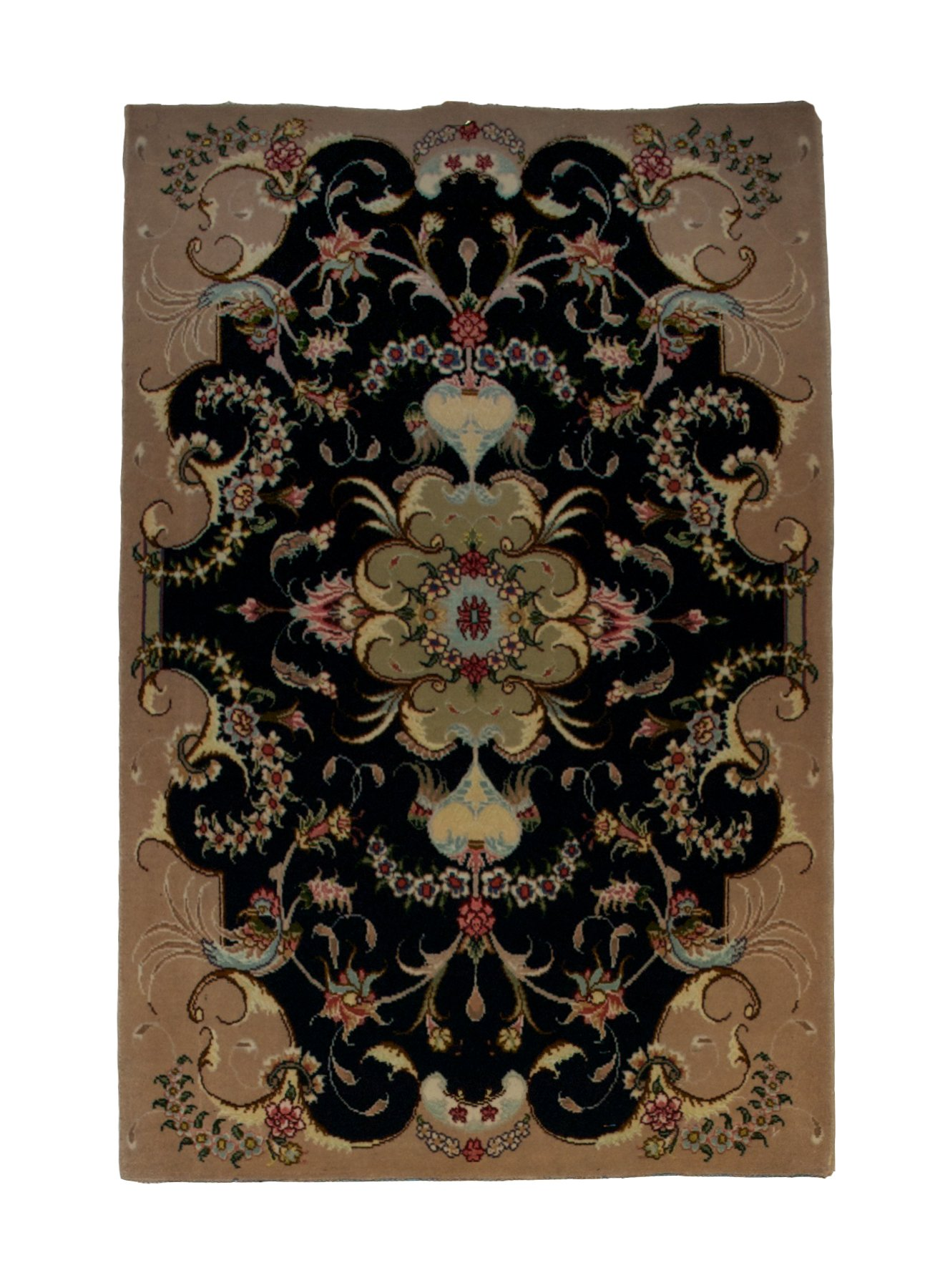 Persian Tabriz 2' x 3' Handmade Area Rug - Shabahang Royal Carpet