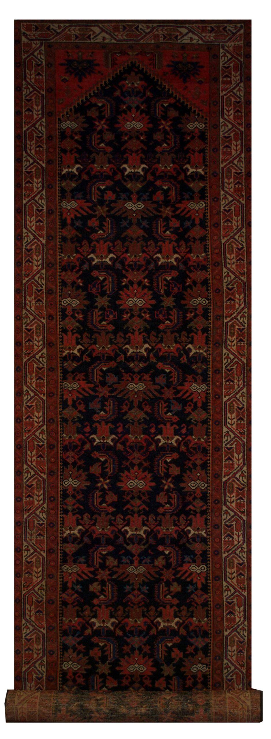 """Antique Persian Malayer 3' 5"""" x 16' 3"""" - Shabahang Royal Carpet"""