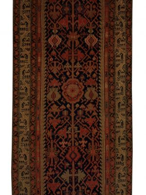 "Antique Persian Malayer 3' 2"" x 15' 7"" - Shabahang Royal Carpet"