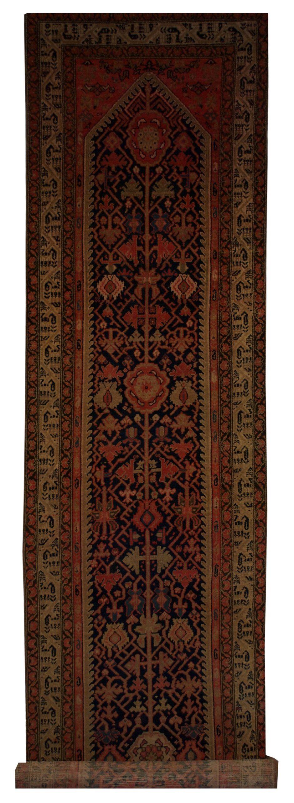 """Antique Persian Malayer 3' 2"""" x 15' 7"""" - Shabahang Royal Carpet"""
