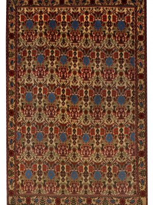 "Persian Abadeh 3' 5"" x 5' Wool Handmade Area Rug - Shabahang Royal Carpet"