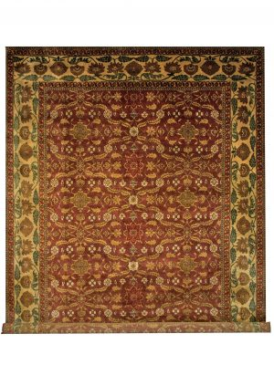 "Old World Kerman 8' 10"" x 11' 8"" Handmade Area Rug - Shabahang Royal Carpet"