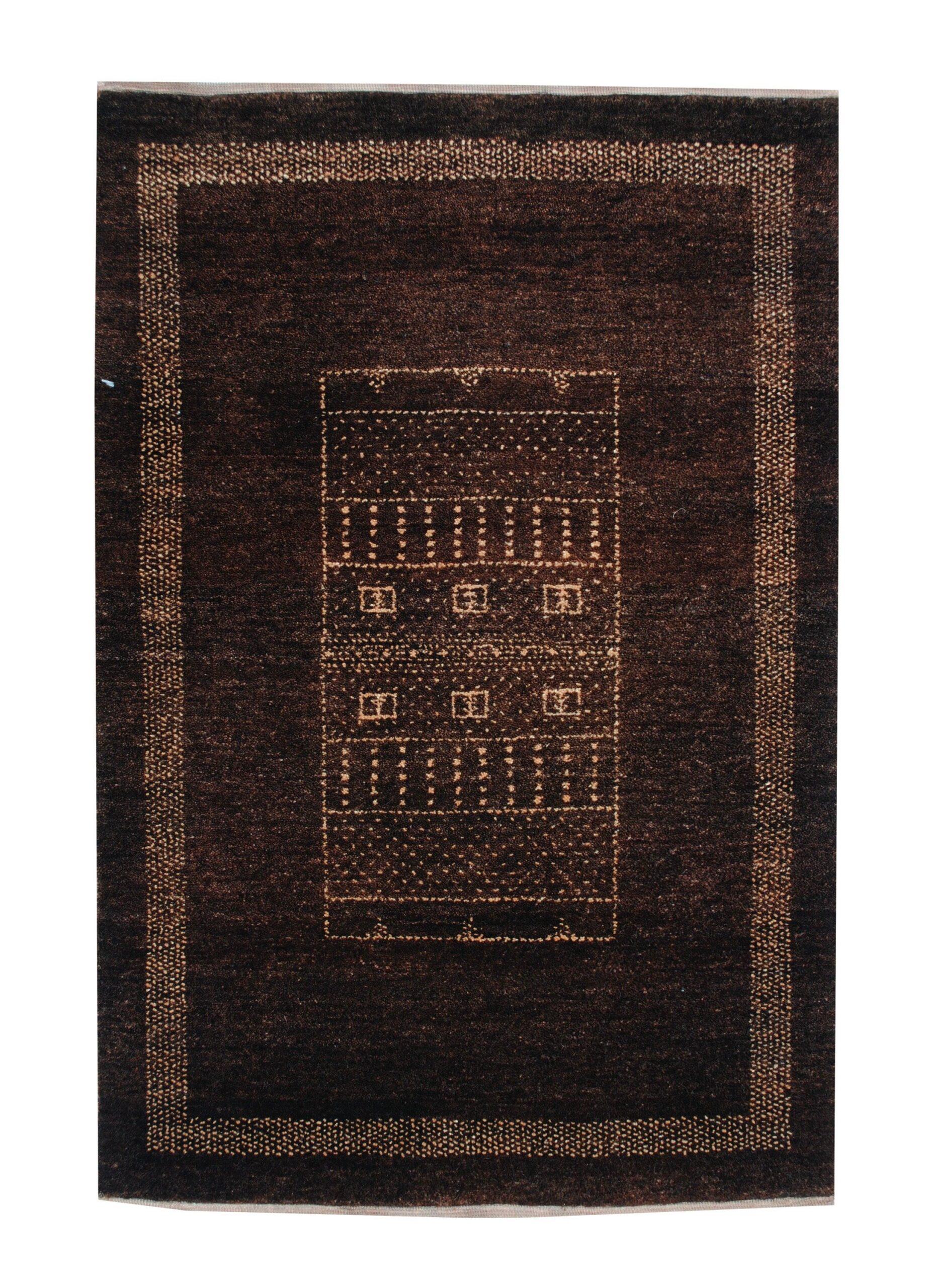 Gabbeh 2' x 3' Handmade Area Rug - Shabahang Royal Carpet