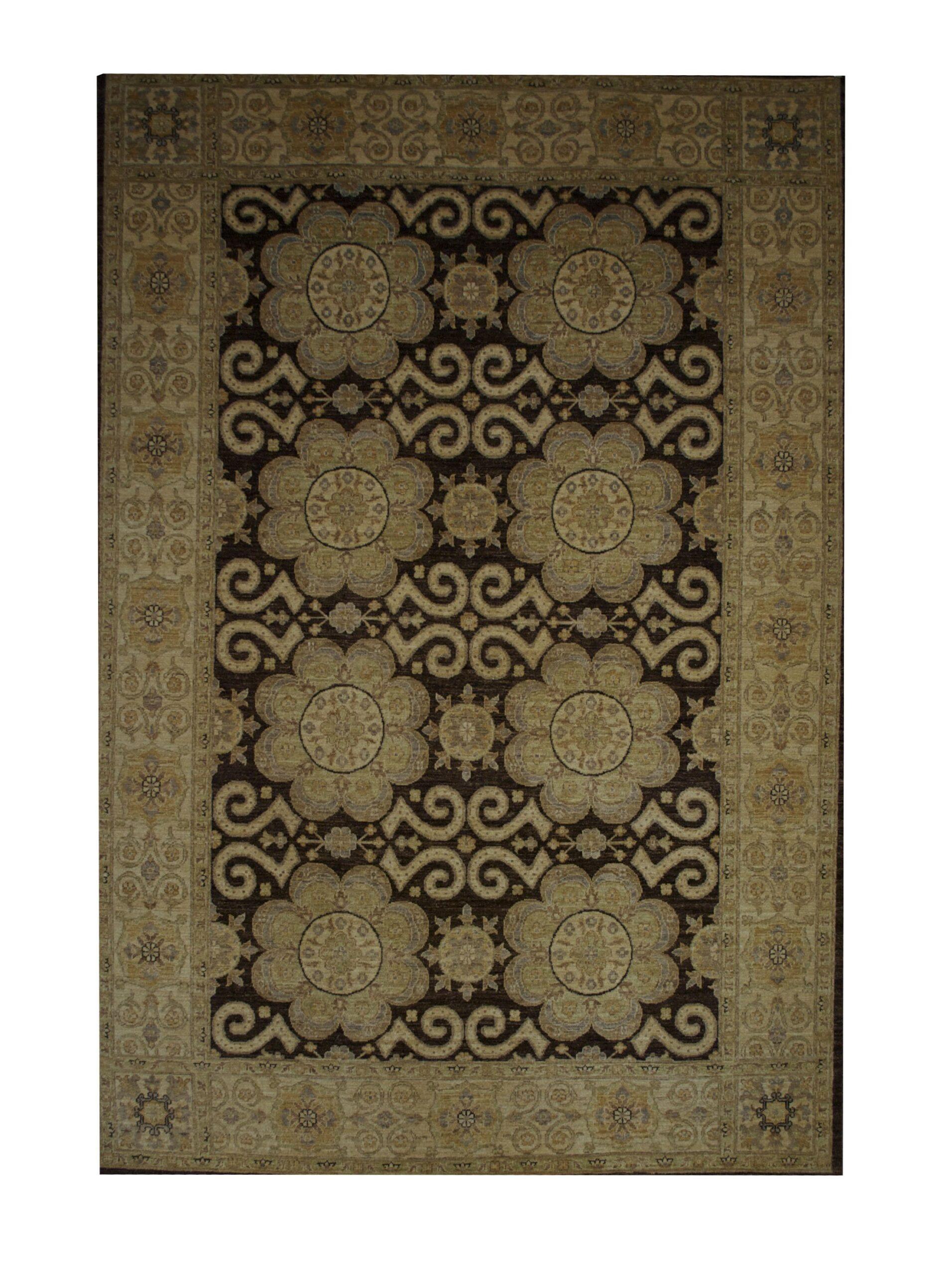 """Peshawar 5' 9"""" x 8' 5"""" Handmade Area Rug - Shabahang Royal Carpet"""
