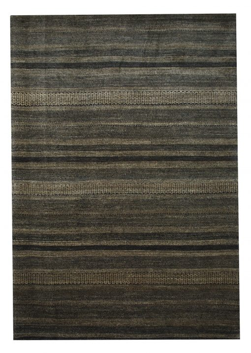"Gabbeh 6' 7"" x 9' 6"" Wool Handmade Area Rug - Shabahang Royal Carpet"