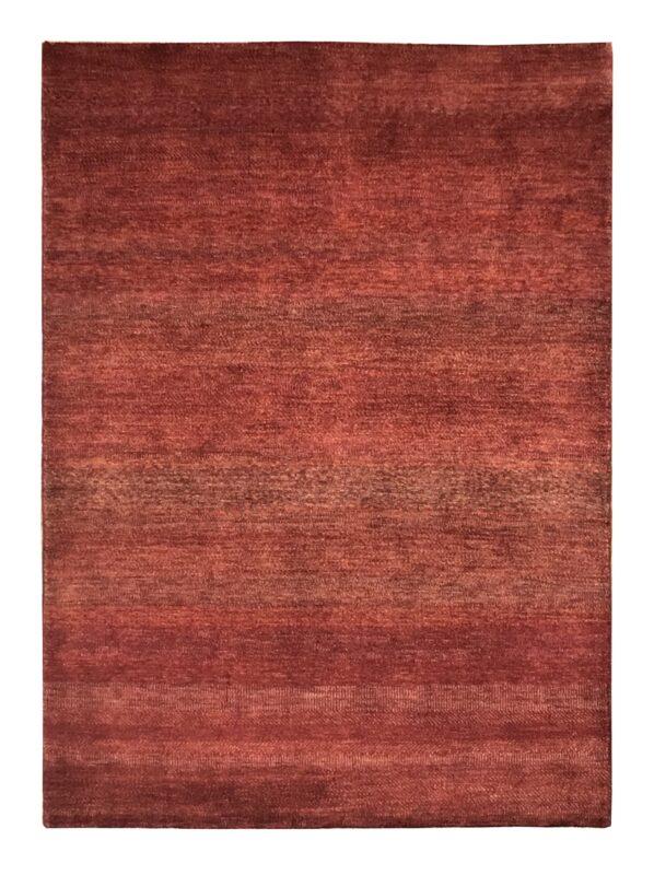 "Gabbeh 4' 7"" x 6' 4"" Wool Handmade Area Rug - Shabahang Royal Carpet"