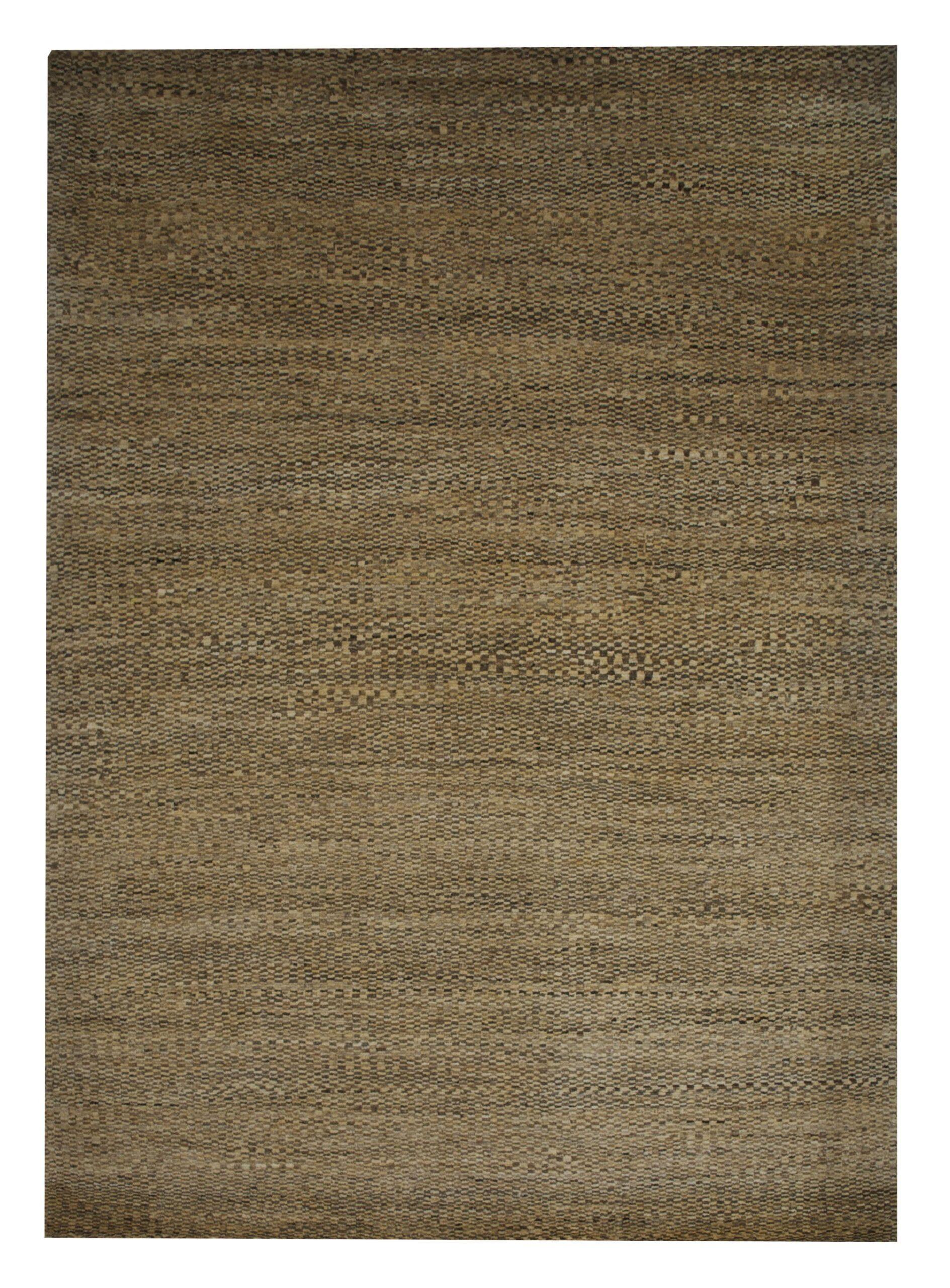 "Gabbeh 4' 10"" x 6' 9"" Wool Handmade Area Rug - Shabahang Royal Carpet"