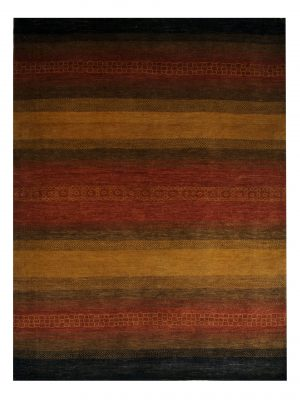 "Gabbeh 5' x 6' 8"" Wool Handmade Area Rug - Shabahang Royal Carpet"