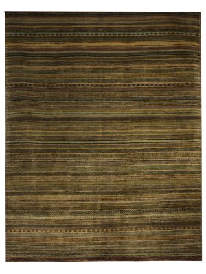 "Gabbeh 4' 6"" x 5' 10"" Wool Handmade Area Rug - Shabahang Royal Carpet"
