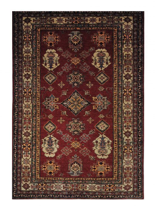 Super Kazak 5' x 7' Handmade Area Rug - Shabahang Royal Carpet
