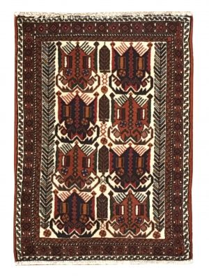 "Persian Afshar 2' x 2' 10"" Handmade Area Rug - Shabahang Royal Carpet"