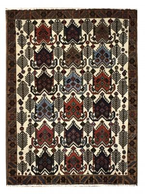 "Persian Afshar 2' 6"" x 3' 4"" Handmade Area Rug - Shabahang Royal Carpet"