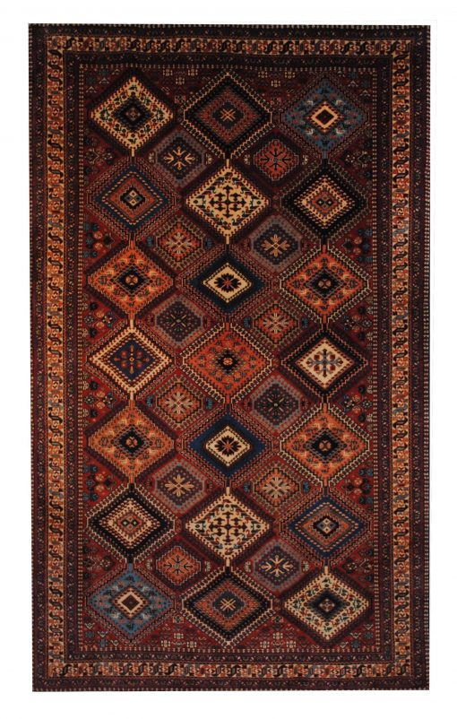 "Persian Yallameh 5' 1"" x 8' 5"" Handmade Area Rug - Shabahang Royal Carpet"
