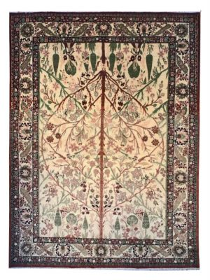 "Persian Haji Jalili Tabriz 9' 3"" x 12' 8"" Wool Handmade Area Rug - Shabahang Royal Carpet"