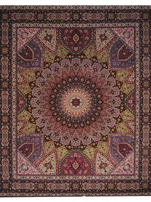 "Persian Tabriz 8' 3"" x 9' 10"" Handmade Area Rug - Shabahang Royal Carpet"