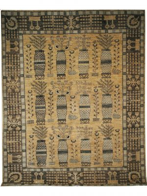 Khotan 8' x 10' Handmade Area Rug - Shabahang Royal Carpet