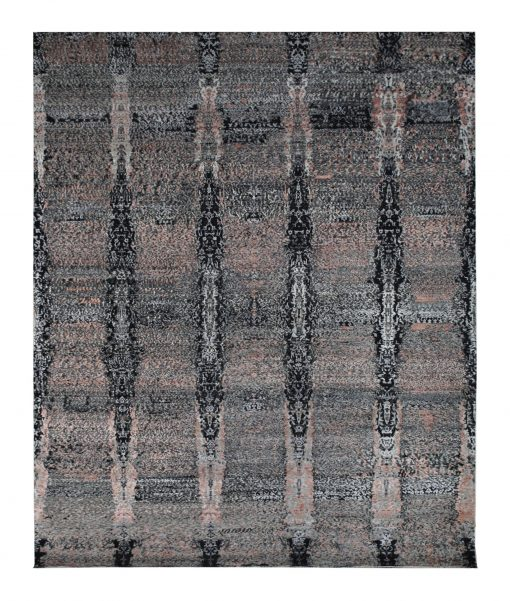 "Modern 8' x 9' 10"" Handmade Area Rug - Shabahang Royal Carpet"
