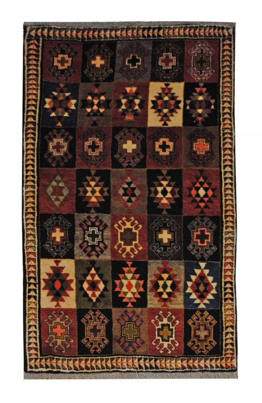 Persian Gabbeh Handmade Area Rug - Shabahang Royal Carpet