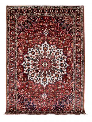 "Vintage Persian Bakhtiari 6' 10"" x 10' 6"" Handmade Wool Area Rug - Shabahang Royal Carpet"