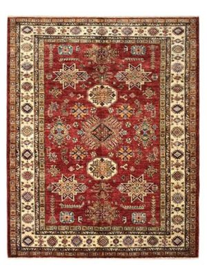 "Super Kazak 5' x 6' 3"" Handmade Area Rug - Shabahang Royal Carpet"