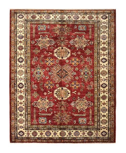 """Super Kazak 5' x 6' 3"""" Handmade Area Rug - Shabahang Royal Carpet"""
