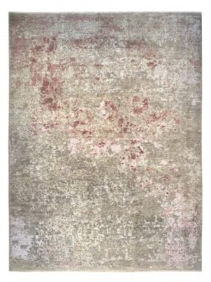 "Erased Heritage 8' 10"" x 12' Handmade Area Rug - Shabahang Royal Carpet"