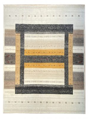 Gabbeh 8'  x 10' Wool Handmade Area Rug - Shabahang Royal Carpet