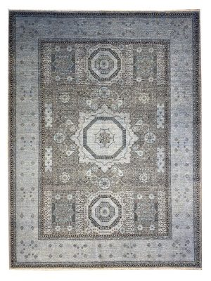 "Mamluk 8' 8"" x 11' 7"" Handmade Area Rug - Shabahang Royal Carpet"