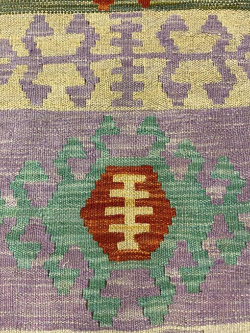 """Handmade Colorful Kilim Runner 2' 8"""" x 9' 8"""" - Shabahang Royal Carpet"""