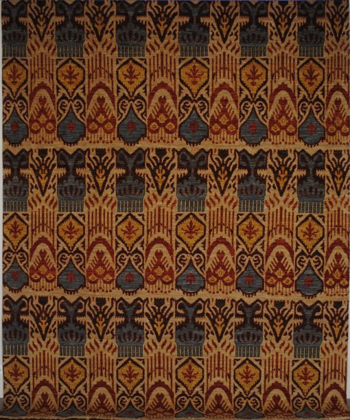 Ikat 8' x 10' Handmade Area Rug - Shabahang Royal Carpet