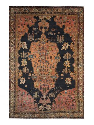 Antique Persian Ziegler Bakhtiari 10' x 14' Handmade Area Rug - Shabahang Royal Carpet