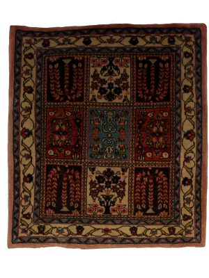"Persian Sarouk 2' 3"" x 2' 6"" Handmade Area Rug - Shabahang Royal Carpet"