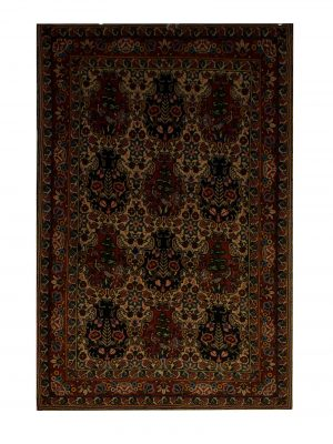 "Persian Bakhtiari 3' 4"" x 5' Handmade Area Rug - Shabahang Royal Carpet"