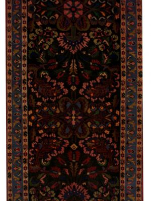 "Vintage Persian Bakhtiari 3' 6"" x 11' - Shabahang Royal Carpet"