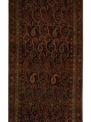 "Antique Persian Malayer 3' 4"" x 12' - Shabahang Royal Carpet"