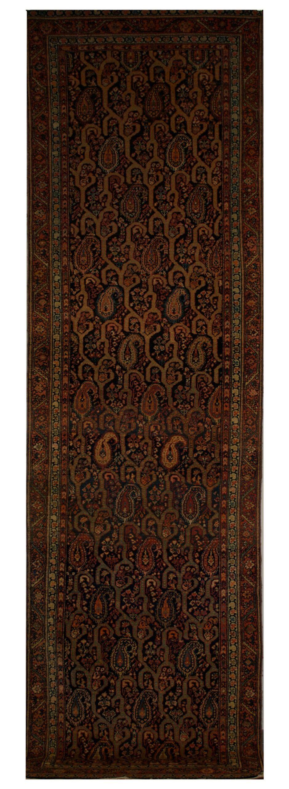 """Antique Persian Malayer 3' 4"""" x 12' - Shabahang Royal Carpet"""