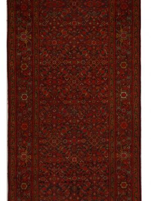 "Antique Persian Malayer 3' 5"" x 16' 3"" - Shabahang Royal Carpet"