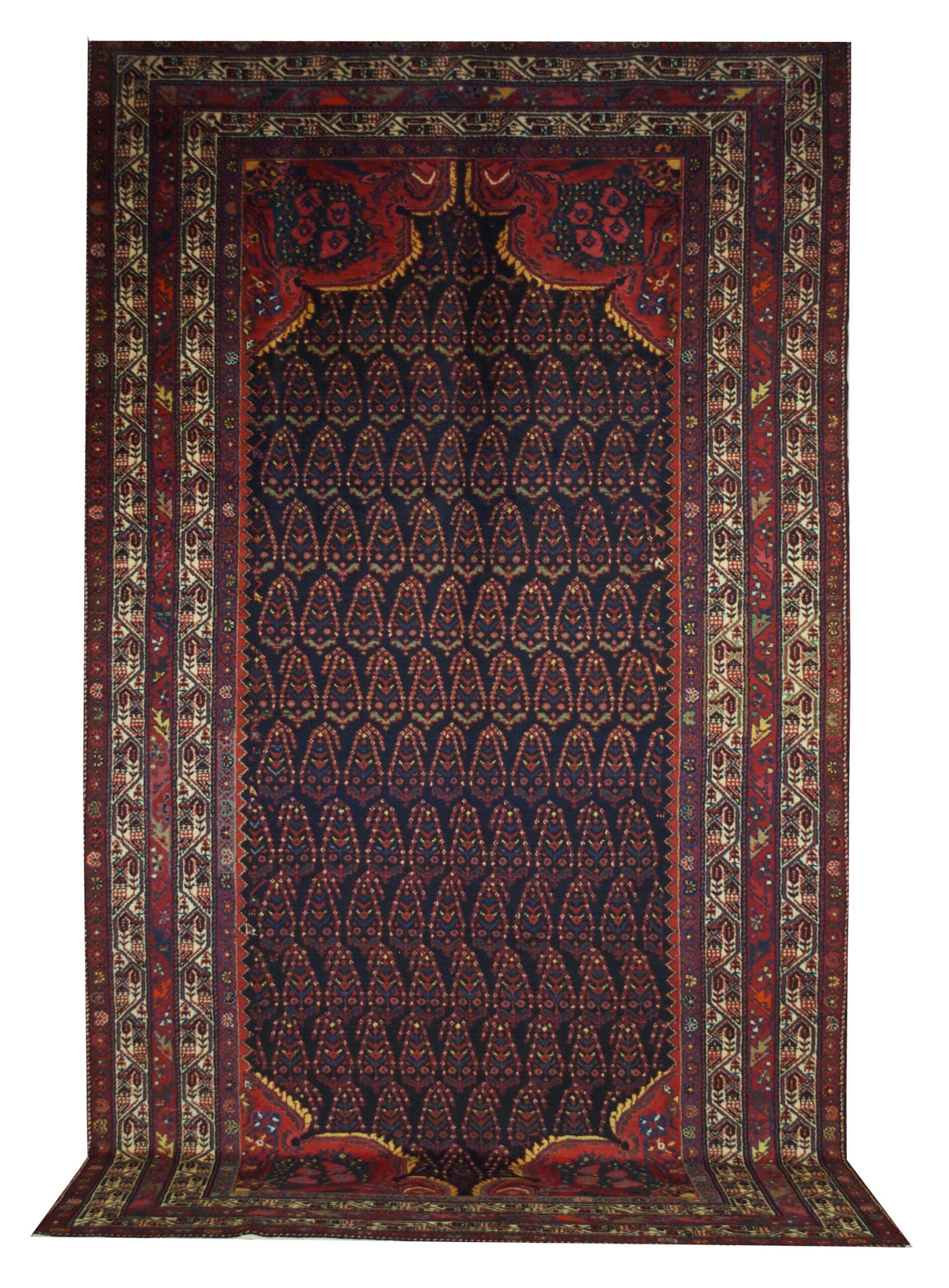 """Antique Persian Malayer 6' 8"""" x 11' 8"""" - Shabahang Royal Carpet"""
