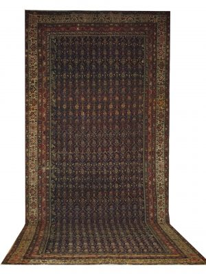 "Antique Persian Malayer 6' x 14' 2"" - Shabahang Royal Carpet"