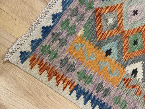 """Handmade Colorful Kilim 4' x 5' 10"""" - Shabahang Royal Carpet"""