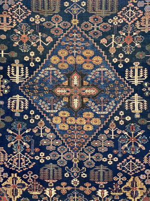 "Antique Persian Ziegler Bakhtiari 10' 2"" x 14' 8"" - Shabahang Royal Carpet"