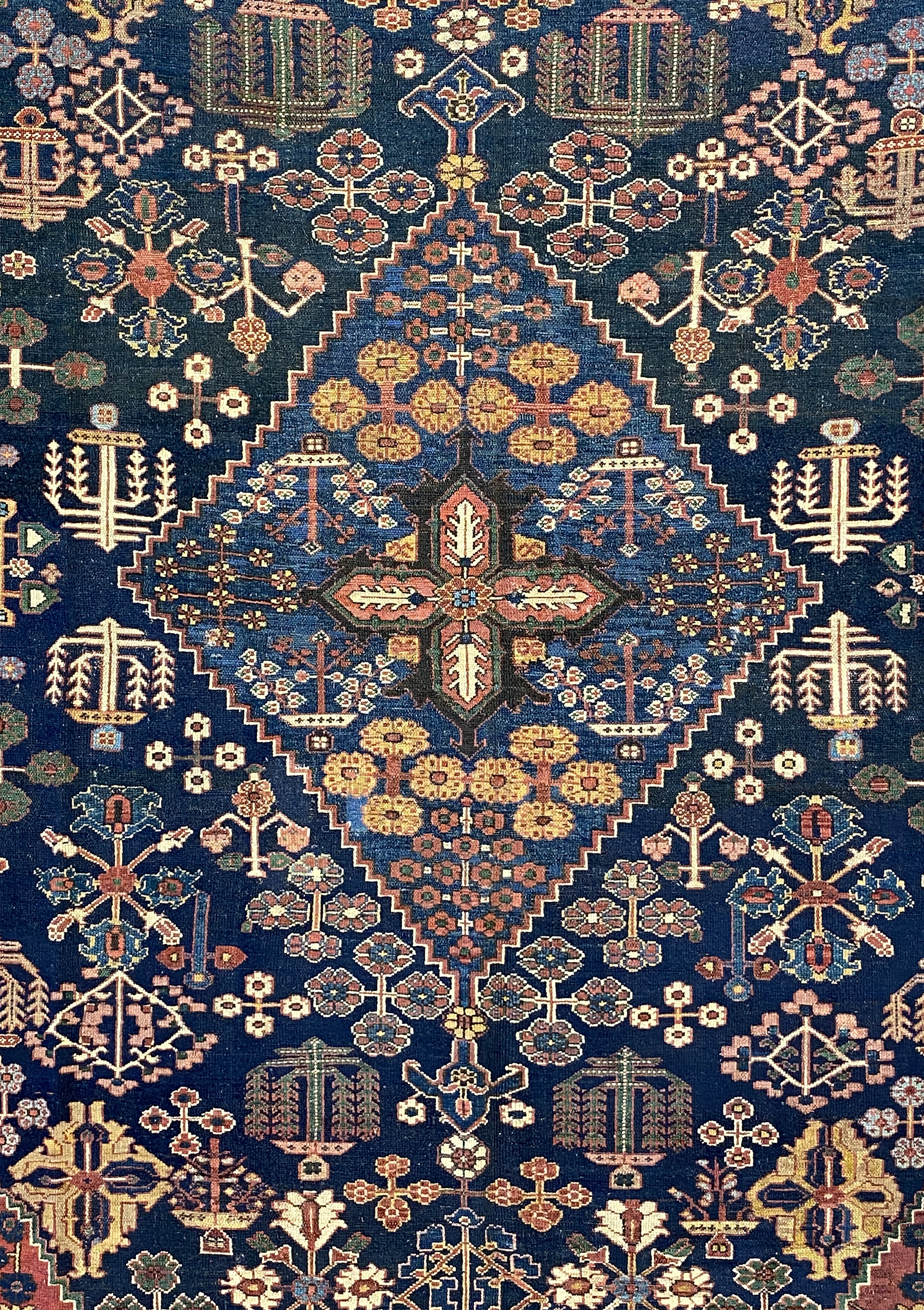 "Antique Persian Ziegler Bakhtiari 10' 2"" x 14' 8"" - Shabahang Royal Carpet"